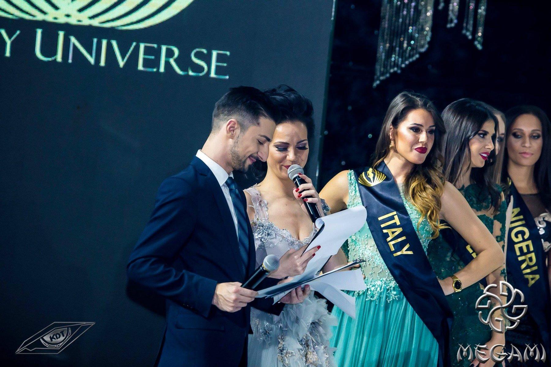 Теодор Тодоров - Тео и Боряна Баташова, водещи на Lady Universe, 2017, Hotel Marinela Sofia