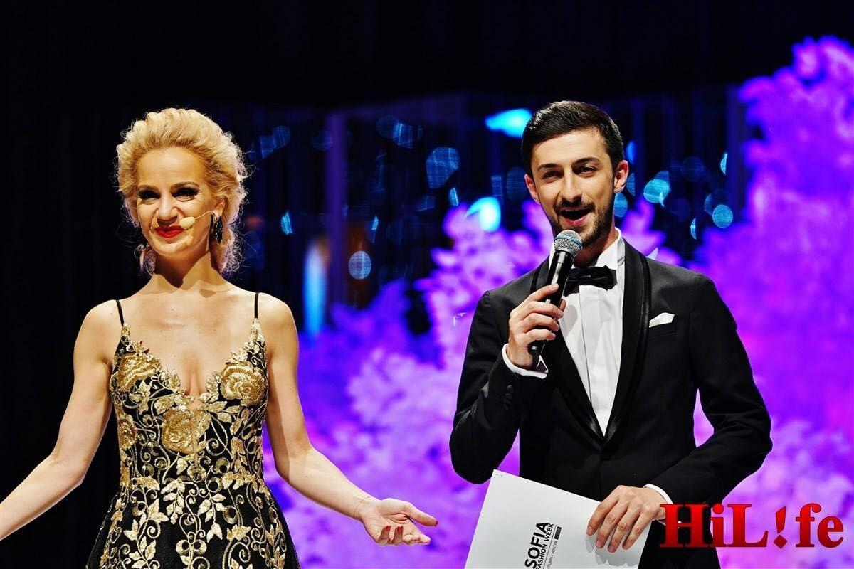 Теодор Тодоров - Тео и Боряна Баташова на Sofia Fashion Week, 2018