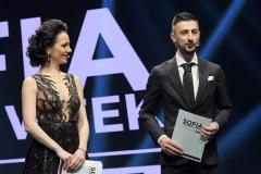 Теодор Тодоров - Тео и Боряна Баташова на Sofia Fashion Week, 2017