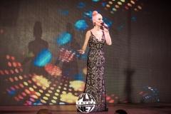 Боряна Баташова на сцената на Планет Клуб, Свети Влас, 2018