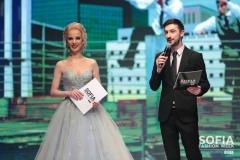 Теодор Тодоров - Тео и Боряна Баташова на Sofia Fashion Week, 2019