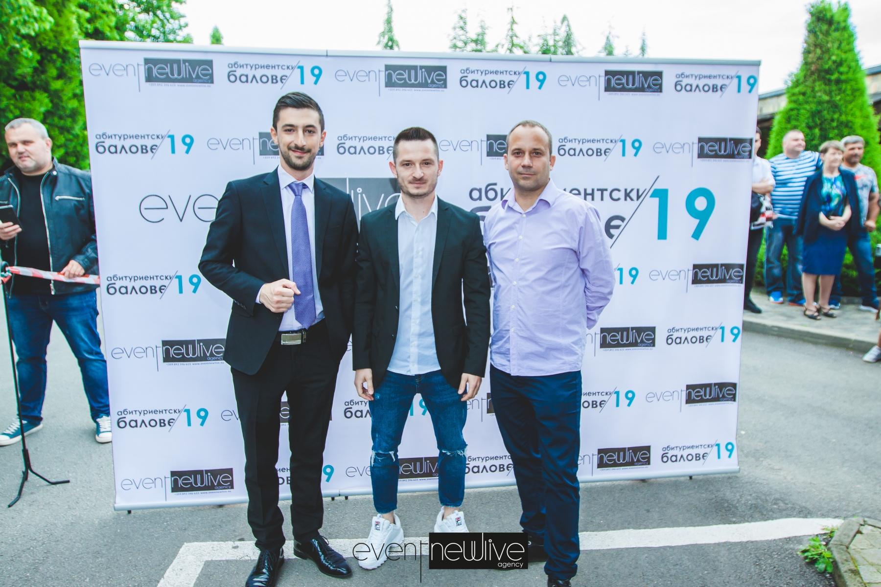 Усмивки от екипът на Event NewLive Agency