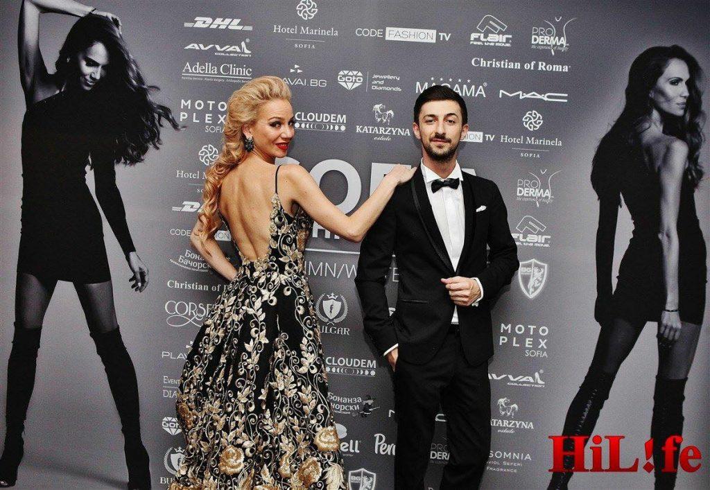 Теодор Тодоров - Тео и Боряна Баташова са на сцената на SFW 6 издания.