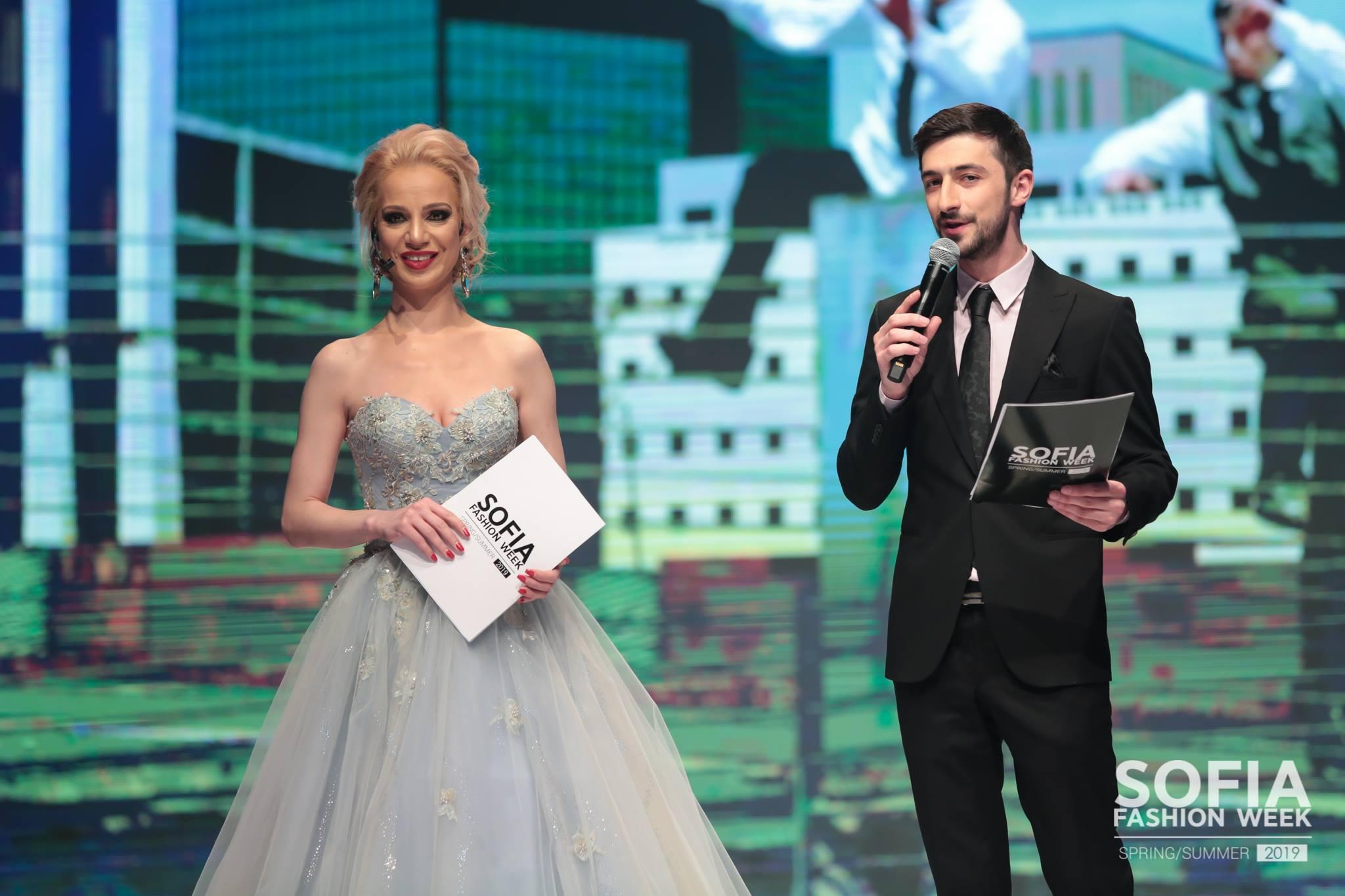 Теодор Тодоров водещ, Боряна Баташова, Sofia Fashion Week